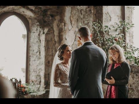 Romantic Manorbier Wedding Ceremony