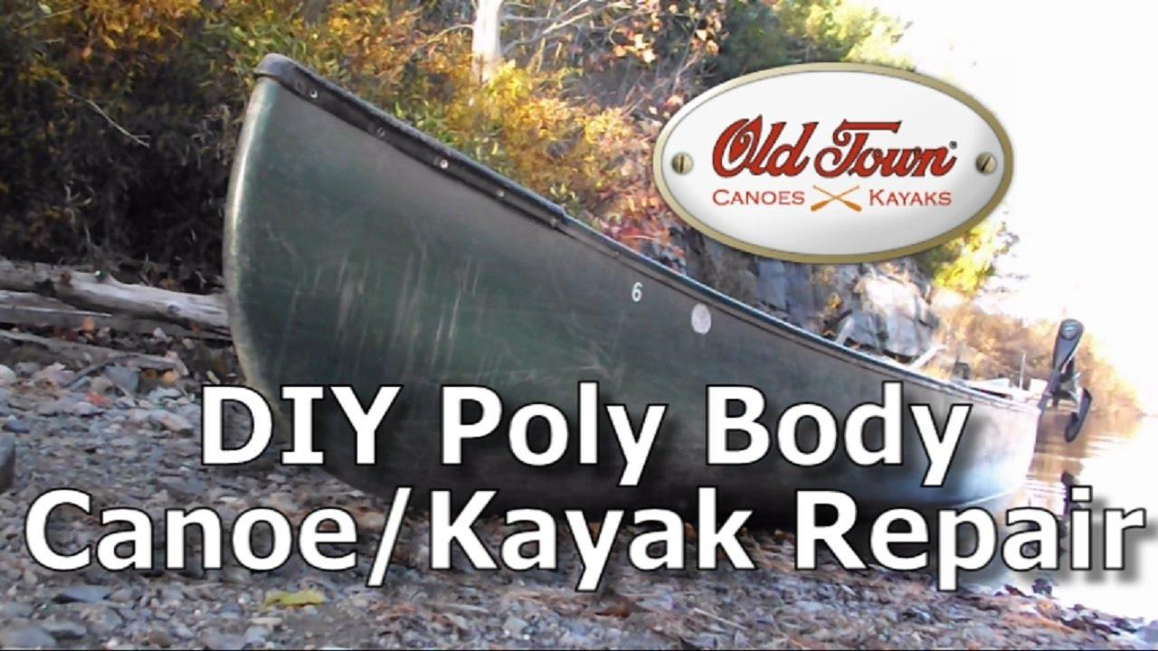 Diy Polyethylene Canoe Hull And Keel Repair For Zero
