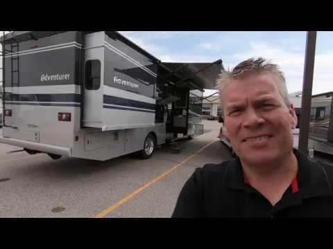 2020 Winnebago Adventurer 33c Class A Motor Home Youtube