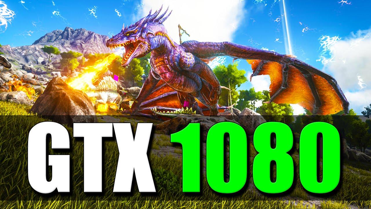 GTX 1080: ARK Survival Evolved Gameplay 1440p Ultra Settings
