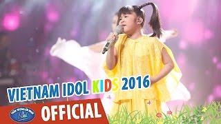 VIETNAM IDOL KIDS 2016 - GALA 4 - CON CÒ - BẢO TRÂN
