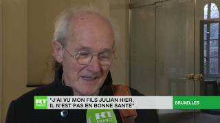 John Shipton, père de Julian Assange : «Mon fils n'est pas en bonne santé»