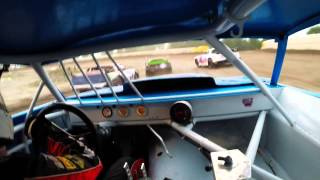 Winston Speedway | Street Stock Feature 7/3/2015 | In-Car Came…