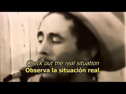Real Situation - Bob Marley (LYRICS/LETRA) [Tuff Gong]