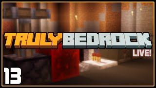 LIVE REPLAY! | Ep 13: Redstone, Derps and Danger | Truly Bedrock SMP