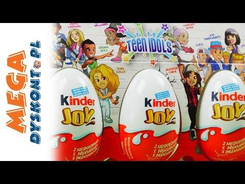 Teen Idols - Kinder Joy & Smerfy & Fidget Spinner - Bajki dla dzieci i unboxing