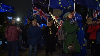Reactions to UK parliament vote defeating PM