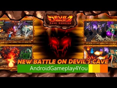 Devil Ninja2 (Cave) Android Game Gameplay