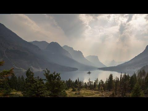 Música relajante con paisajes naturales en movimiento