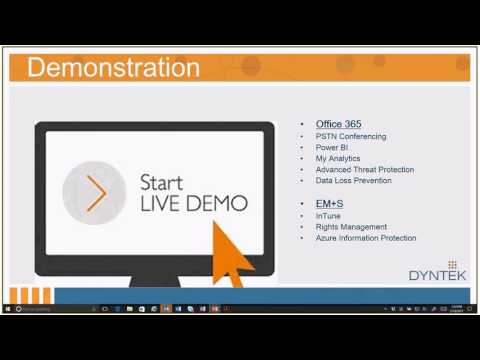 Demo: Microsoft Secure Productive Enterprise