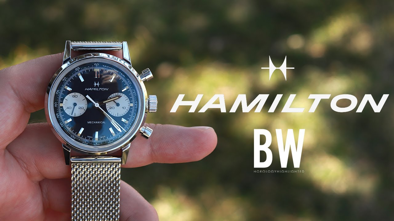 Hamilton Intramatic Chronograph H Reverse Panda Review