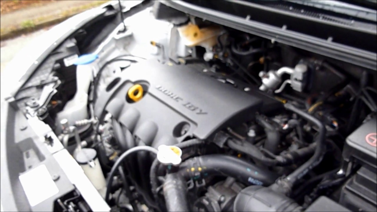 Hyundai I30 Engine Bay Warm Start Up 1 4 Mpi G4fa Engine