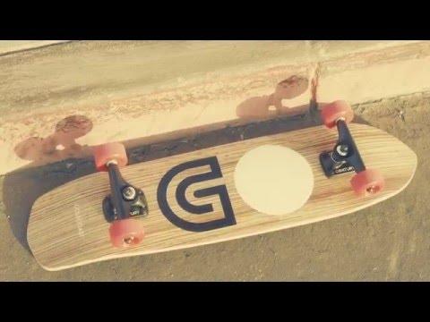 Gold Coast Slapstick Zebra Cruiser Skateboard