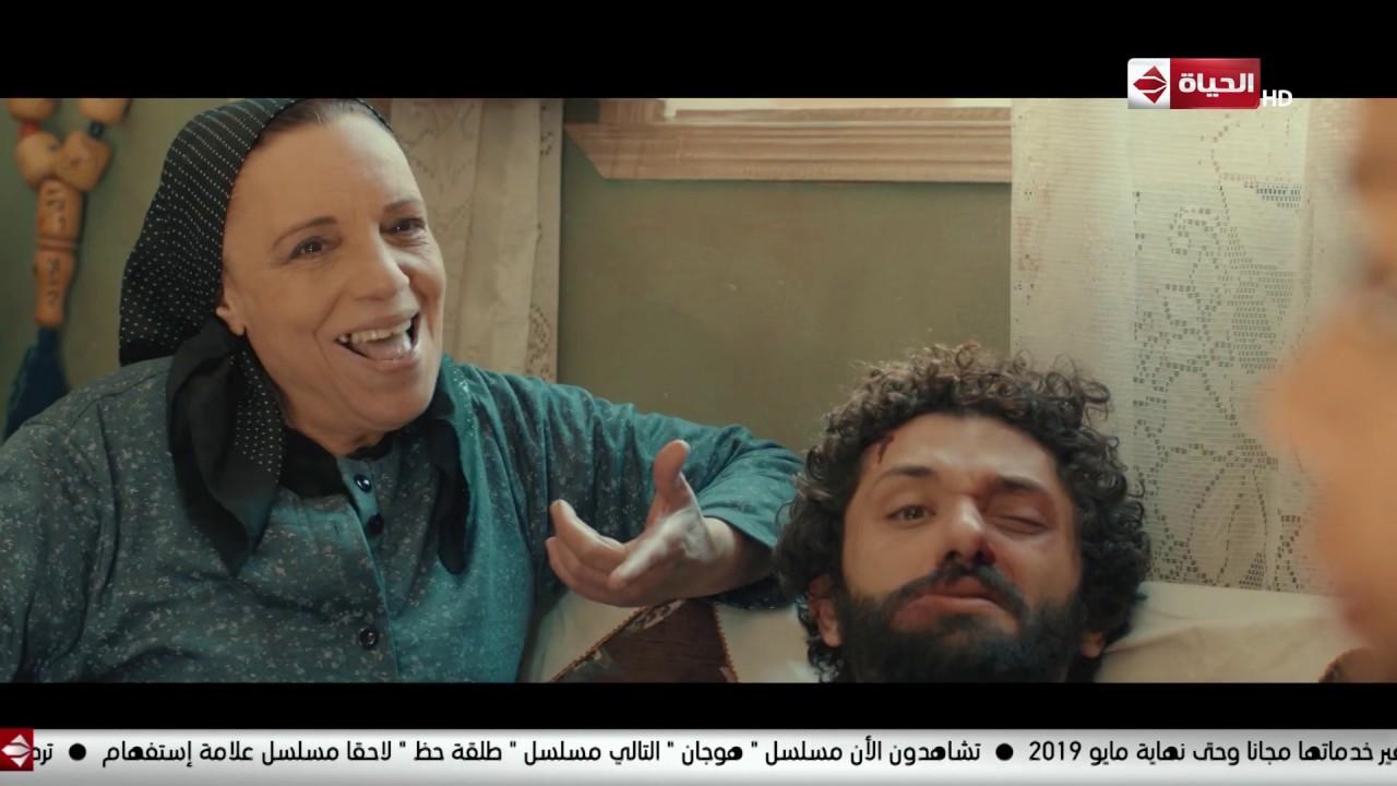 في مشهد كوميدي جدًا.. أم لطفي الحراق ومراته يكملوا عليه وهو متكسر #هوجان