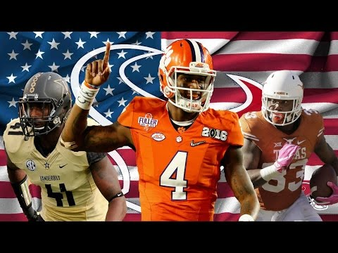 "Houston Texans 2017 NFL Draft Player Highlights ||""Boulevard of Broken Dreams""||"