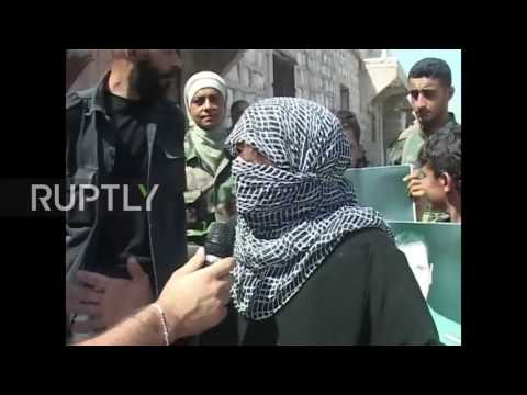 Syria: Anti-govt. militants surrender arms to flee battle-torn Aleppo