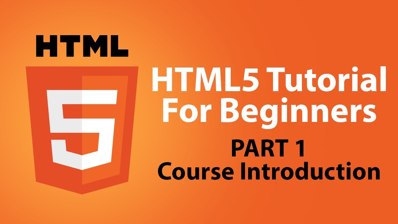 HTML5 Tutorials For Beginners