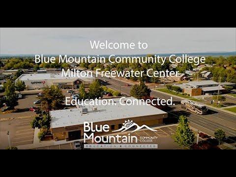 Blue Mountain Community College Virtual Campus Tour - Milton Freewater Center