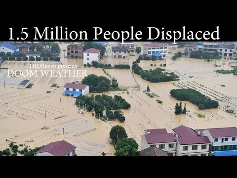 DOOM WEATHER 1.5 Mil ppl displaced in Floods, WildFires & Earthquakes & Volcanoes