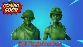 Fortnite - NEW toy soldier skins coming soon ? - £20 gift card giveaway at 300 subs so show the love