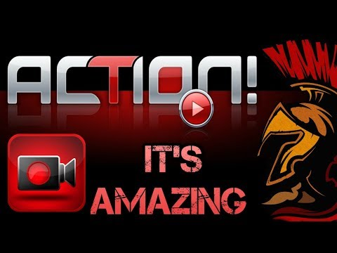 What I Use For Video Recording - ACTION! Gameplay Recording Software