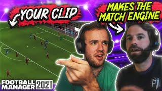 FM Match Engine Creator Reacts to YOUR Clips
