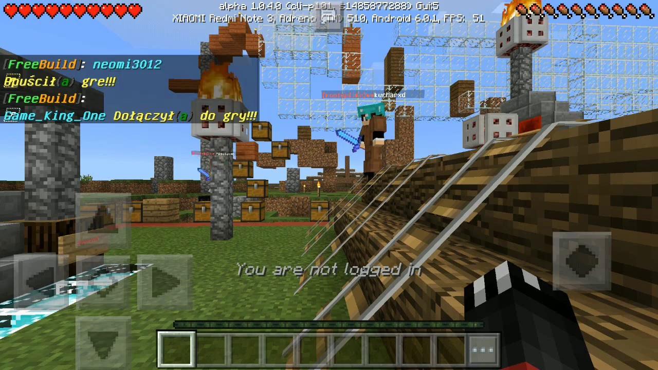 Jak wejść na serwer multiplayer w Minecraft PE (bez LAN-A) - Poradnik -  Minecraft Pocket Edition