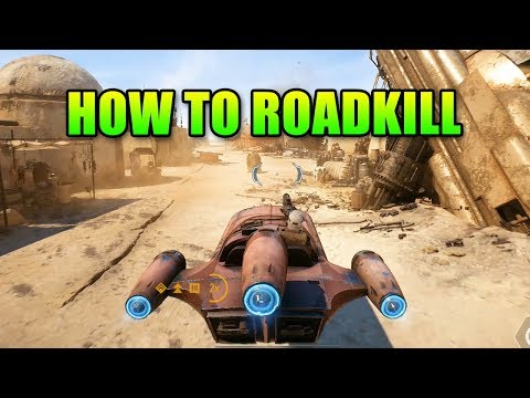 How To Roadkill In Star Wars Battlefront 2