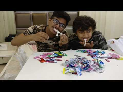 100 Gum Challenge || INDIA || MJ TUBE || GONE FUNNY