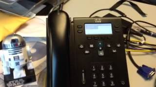 Star Wars R2D2 Ringtone on Cisco 6941 Phone