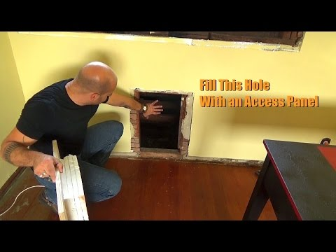 Creating A Wall Panel Attic Access