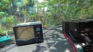 Vertical antenna mobile 40m band YC2YIZ