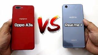 Oppo A3s Vs Realme 1 Comparison And SpeedTest I Hindi