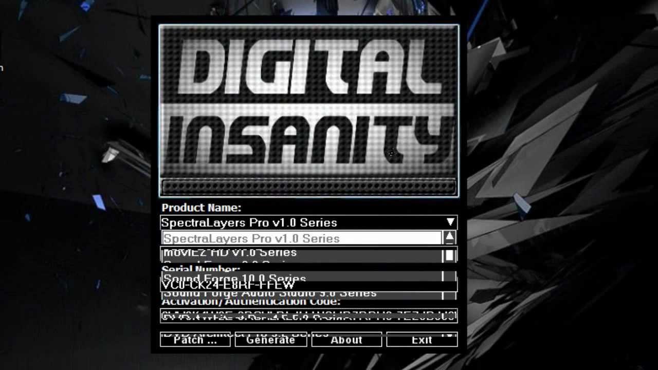 digital insanity keygen patch zip
