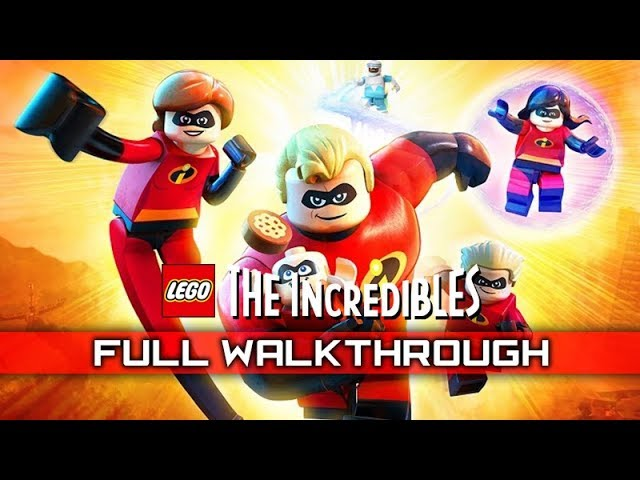 LEGO THE INCREDIBLES – Full Gameplay Walkthrough / No Commentary 【FULL GAME】