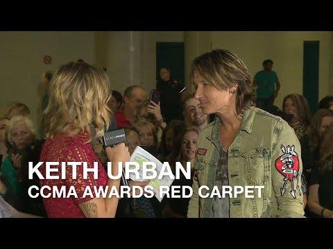Keith Urban Talks to CBC Music at the CCMA Awards