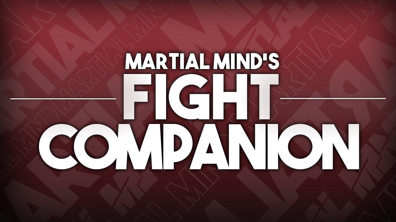 COVINGTON VS WOODLEY: Fight Companion