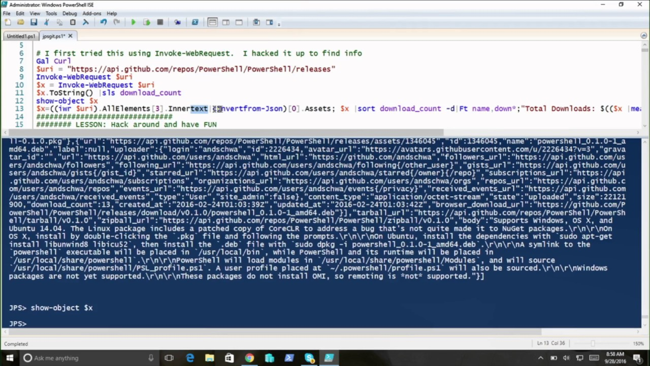 Microsoft Ignite 2016 Explore PowerShell unplugged with Jeffrey Snover &  Don Jones