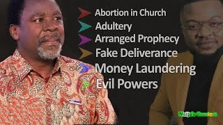 Prophet T.B Joshua And Synagogue Exposed Bare In Shocking Revelations - Jay Israel