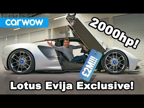 New 2000hp Lotus Evija EV EXCLUSIVE!!!!
