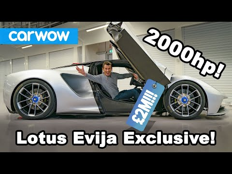 New 2000hp Lotus Evija EV EXCLUSIVE!!!!