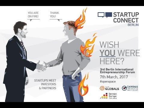 Startup Connect Berlin 2017 - Live Stream