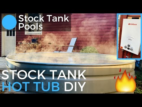 Stock Tank HOT TUB DIY Guide (propane)