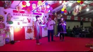 Singer vinayakar in karuppu nirathazhagi song singapore