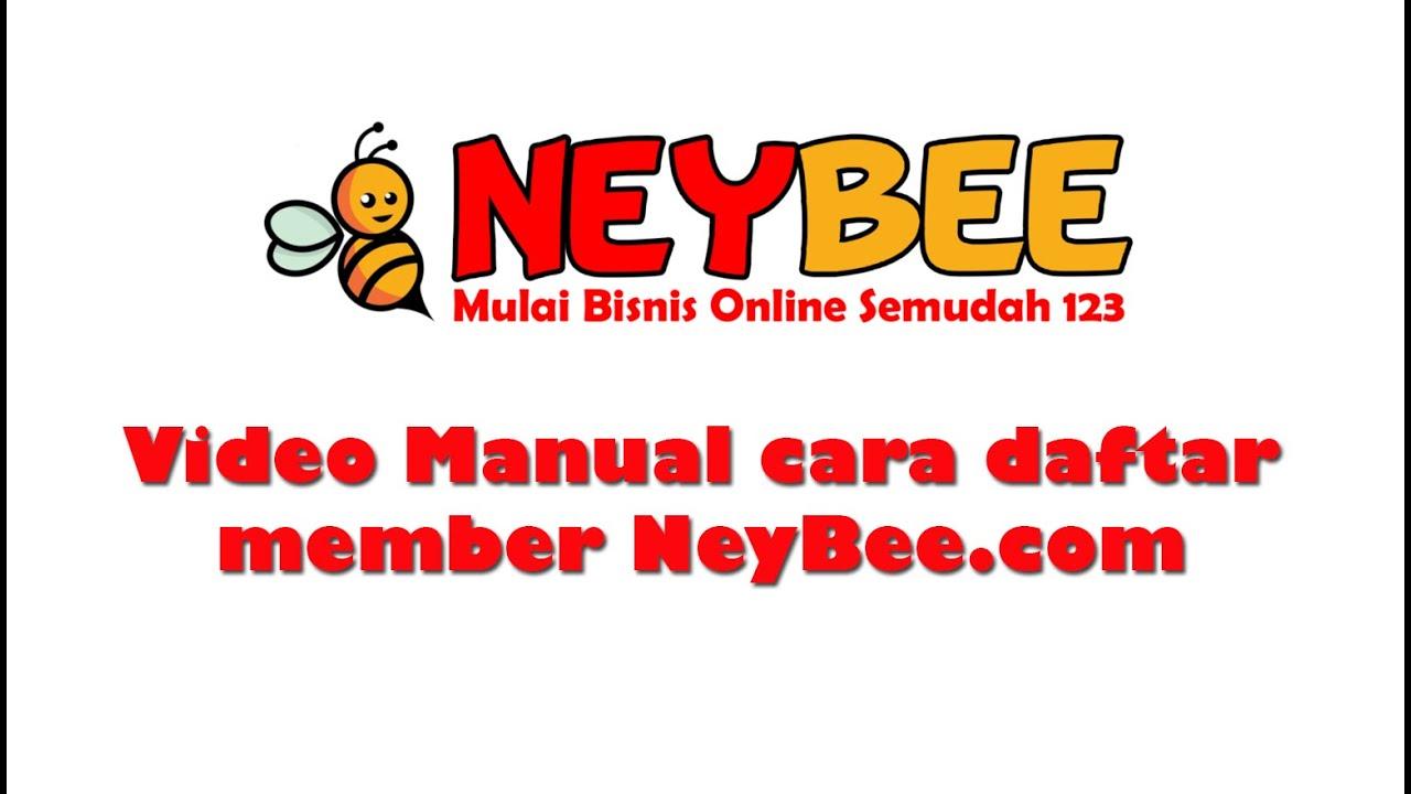 Cara Daftar Member NeyBee