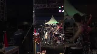Konser Kotak  Batam   Gilang Nr Solo Drum Skil Kalahkan Rio Alief Noah    1080p