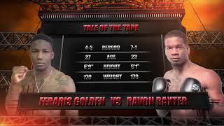 Premier MMA Championship 12 Ravon Baxter vs Feraris Golden