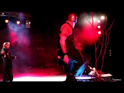 Mushroomhead Live in Moscow - sun doesn't rise