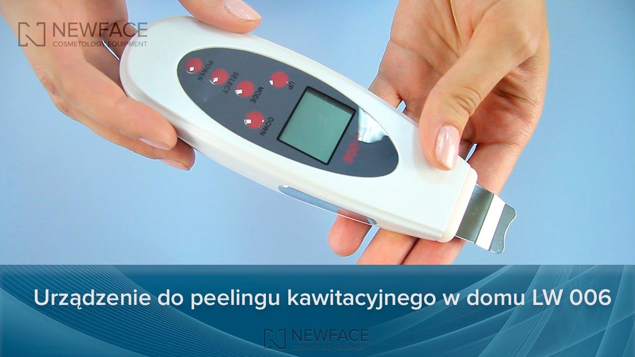 Urządzenie do peelingu kawitacyjnego w domu LW 006