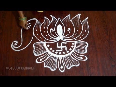 varalakshmi-vratham-special-muggulu-easy-friday-kolam-designs-simple-rangoli-designs-kalasam-muggulu